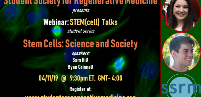 Student Society for Regenerative Medicine | * Global Student